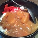 9431652 - 茶碗カレー(¥150)