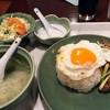 アジアンキッチン サワディー - 料理写真:「牛肉のオイスターソース炒めセット」880円也。税込。