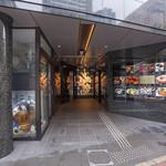 Shangrila's secret銀座店 - ビルの入り口