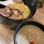 鳥白湯ラーメン はらや - つけ麺(200g)匠 特製