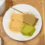 cafe煉屋八兵衛 - 黒本わらび餅