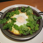 PHAKCHI JO'S - 料理写真:パクチー焼きチーズカレー