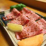 焼肉・もつ鍋・しゃぶしゃぶ 御華 - ミスジ タレ 1880円