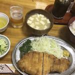 94318776 - ロースカツ 定食(1,700円)