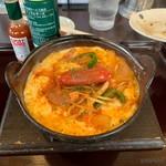味軒 - 料理写真:鍋焼きスパゲッティ
