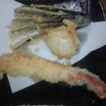 天ぷら徳家 - えびかに海鮮定食1回目 【 2011年9月 】