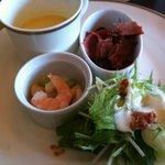 ベーカリーレストラン サンマルク - +500円ランチセットの前菜