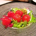 ピアット - マリネしたプチトマトのミックスサラダ