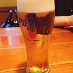 ちゃらりん - 生ビール(モルツ)♡¥550(税抜)