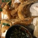 もつ鍋・餃子 永楽 - 本日のおすすめから、がっちょの唐揚げ