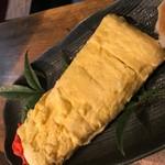 もつ鍋・餃子 永楽 - 出汁の利いただし巻き卵