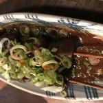もつ鍋・餃子 永楽 - どて串1本25年0円
