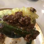 カレーの店 マボロシ - 【2018.10.1】旨味がパワフルなマトンキーマ。