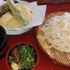 手打ちうどん 田じま - 料理写真:野菜天ぷらざるうどん