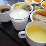 ラビスタ釧路川 - コーンスープうまっ!