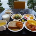 ラビスタ釧路川 - 2日目は洋食を選択