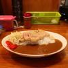 しまや - 料理写真:国産極上ロースカツ&豚バラ煮込カレー(大盛)