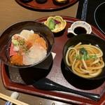 94326294 - 海鮮丼とうどん Oct/2018