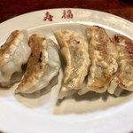 寿福 - 料理写真:餃子