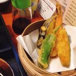 ちゃらりん - 山盛りしらす御飯膳に付いてる 天ぷら♡