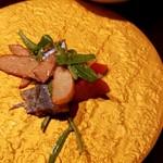 AU GAMIN DE TOKIO - アルギットルッコラと秋刀魚のスモークサラダ