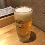 天ぷら定食 まきの - 生ビールは待った