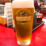 94329320 - 450円のビールが高く思える…                       そのくらい餃子が安っ!