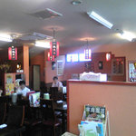 chuugokuryourikouka - 結構、入れ替わり立ち替わりでお客さんが来ます。