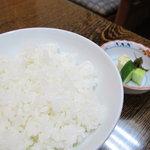 うなぎ 浜名 - ご飯
