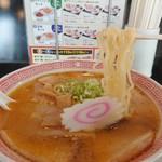 幸楽苑 - 進化した熟成多加水麺