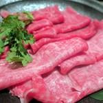 94332310 - 仙台牛のしゃぶしゃぶ鍋