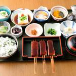 鈴の屋 - 豆腐三昧定食