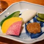 炭火割烹 蔓ききょう - 旬菜盛(淡海地鶏と厳選季節野菜コース)
