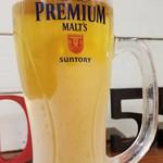 生ビール  プレミアムモルツ