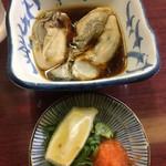 Tatsumi - 北海道産 酢がき (750円) (3粒入り)