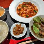 天神飯店 - 麻婆豆腐セット