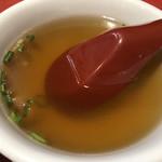 餃子天国 - スープ
