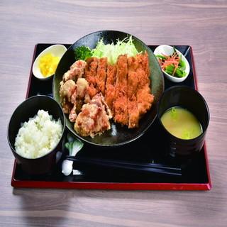 こだわりの洋・和定食から丼もの・麺類まで!!