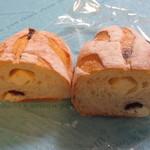 パーネ エ オリオ - クランベリーとチーズ