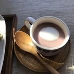 ポコイ - 紫芋のスープ+200円