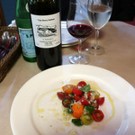 レッドペッパー - トマトとバジリコ