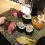 浅草橋 酒肴 肉寿司 -