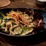 雨云 - 【2018.10.10(水)】15種の野菜サラダ780円