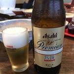 はるぴん - とりあえず瓶ビールよね。