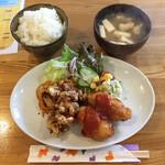 オムライスあらき 1960 - 料理写真:洋食セット ¥850