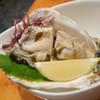 でん - 料理写真:2018/7/23  島牡蠣のお造り