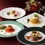 ガーデンレストラン シェフズ テラス - クリスマスディナー