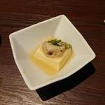 shunnokaisenshi-ma-kettosapporo - 蒸し牡蠣と玉子豆腐(2018.10)