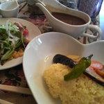 喫茶 フォレスト - スパイシースープカレー(950円)
