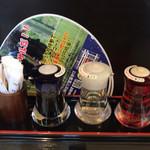 四川担々麺 いぶし銀 - 卓上セット